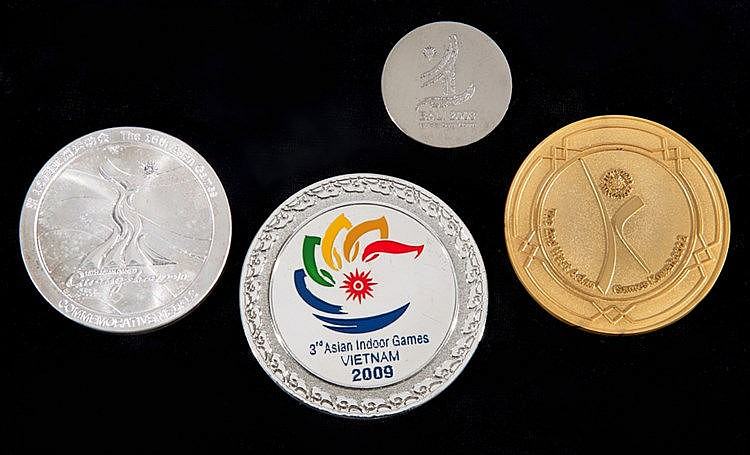 Asian Games participation medals,  i) Kuwait 2002 2nd West Asian Games