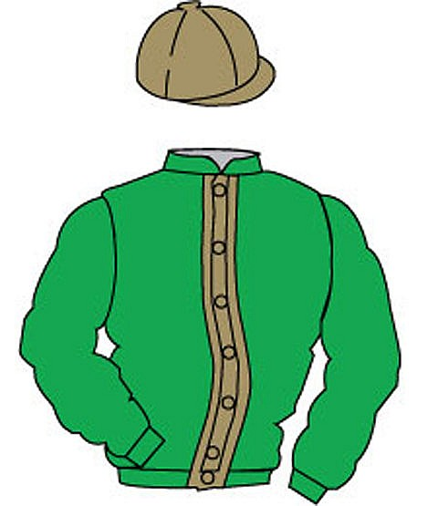 British Horseracing Authority Sale of Racing Colours: GREEN, GOLD stri