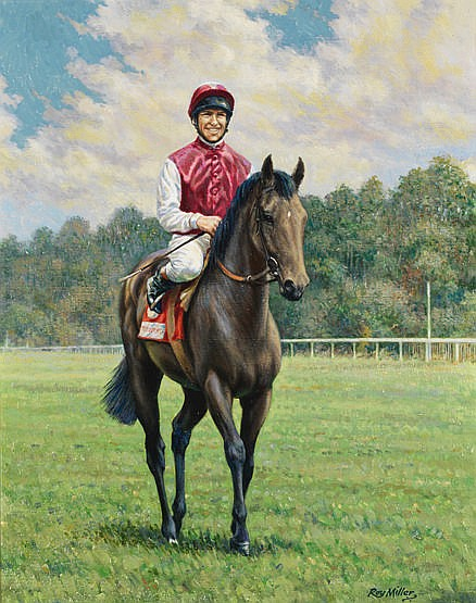 Roy Miller (contemporary)  SINGSPIEL-L. DETTORI  signed, titled on the