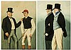 Richard Dighton (1795-1880)  FRED ARCHER & LORD FALMOUTH; ADMIRAL ROUS, Richard Dighton, £220