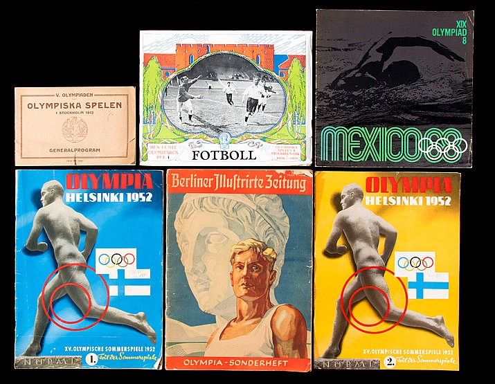 A collection of books and magazines pertaining to the Winter and Summe