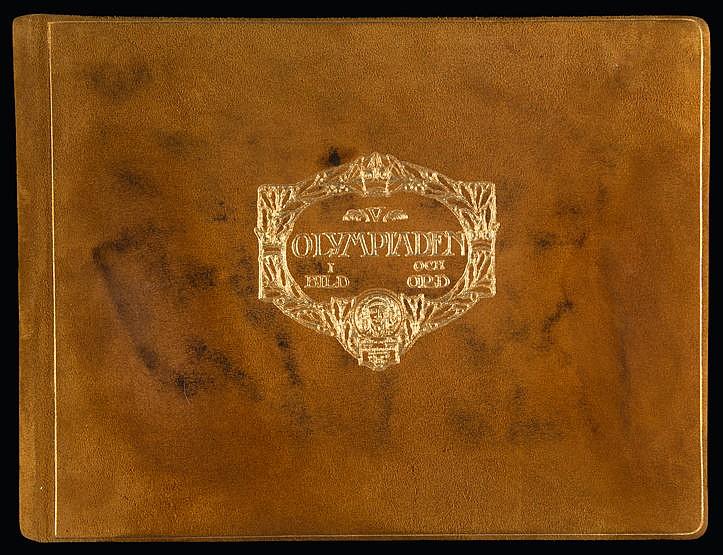 Stockholm 1912 Olympic Games: V Olympiaden 11 Bild och Ord,  luxury ed