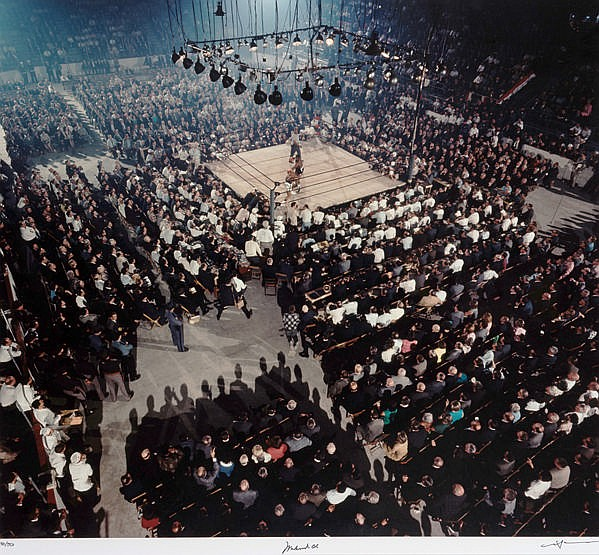 Neil Leifer (photographer born 1942) MUHAMMAD ALI V SONNY LISTON II:
