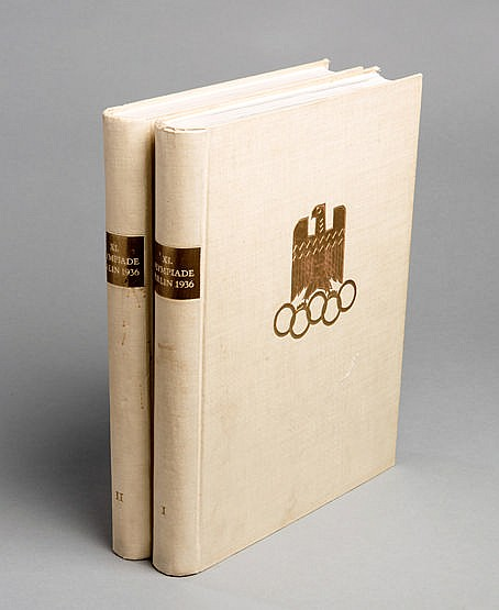 Berlin 1936 Olympic Games Official Report, published by the Organisin