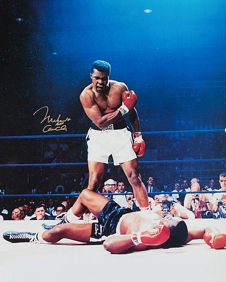 Muhammad Ali/Cassius Clay signed