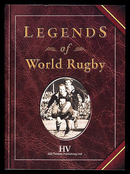 Legends of World Rugby,  limited edition,127/530, the book autographed