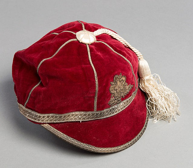 Mick Sullivan England Rugby League International Cap 1958, rose emble