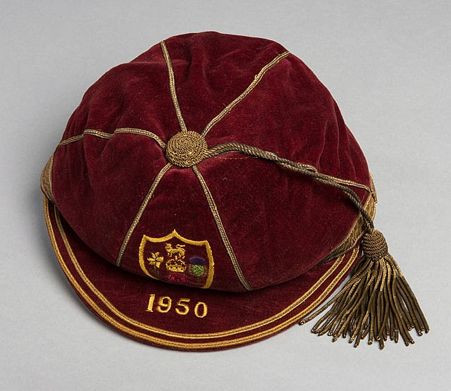 Harry Murphy Great Britain Rugby League 1950 Tour of Australia cap,  c