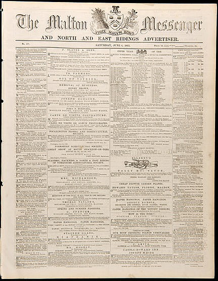 12 Newspapers carrying horse racing reports dating between 1791 and 18
