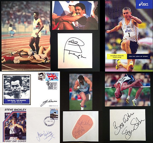 Autographs of GB Olympic Field athletes (1960s-2000s),  i) Daley Thomp