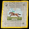 A ladies silk scarf commemorating the victory of Sir Victor Sassoon's, Gordon Richards, £75