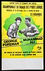 Muhammad Ali and George Foreman signed 'Rumble in the Jungle' World He