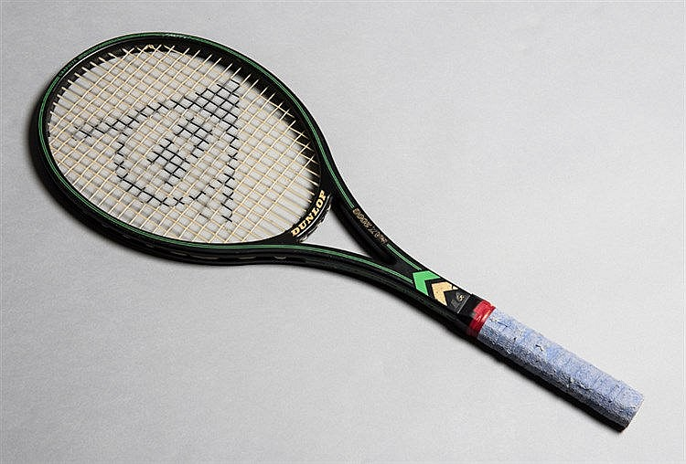 Steffi Graf racket used at the 1992 Wimbledon Lawn Tennis Championship