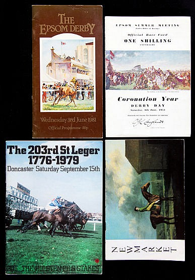 35 Classics racecards, 2,000 Guineas for 1981, 1982, 1985, 1987 & 200