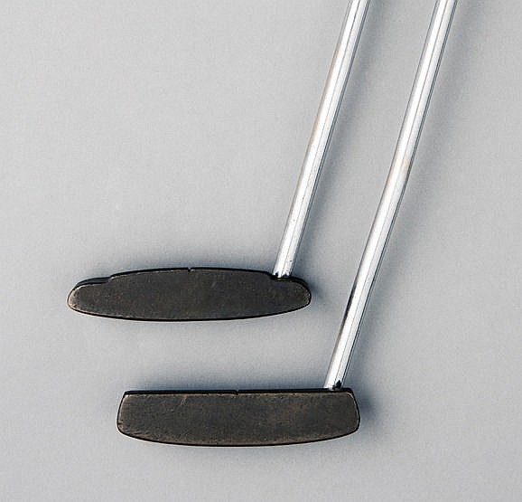 A Ping Echo putter,  stamped SLAZENGER and JACK NICKLAUS, Phoenix addr