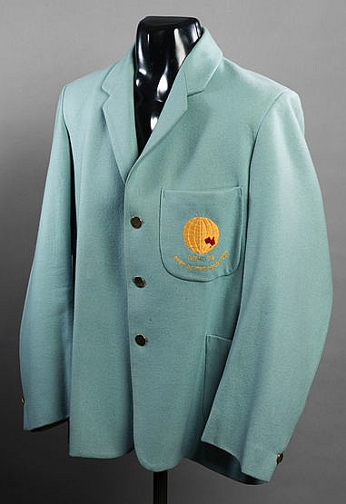 Farokh Engineer Rest of the World cricket blazer from the Tour of Aust
