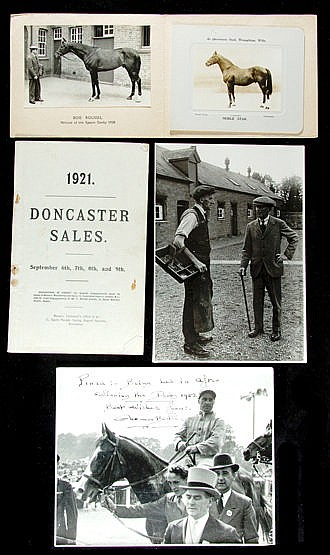 Memorabilia relating to Fred Darling and Beckhampton,  including origi