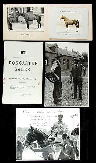 Memorabilia relating to Fred Darling and Beckhampton, including origi