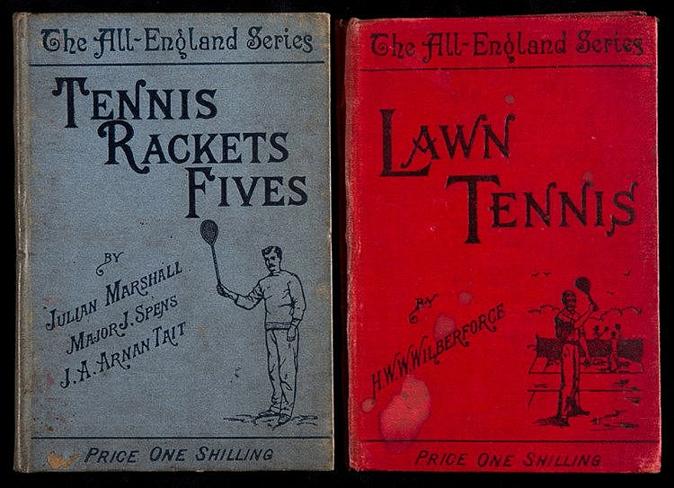 Two racket sports titles from The All-England Series, Tennis, Rackets