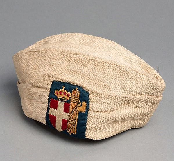 A forage cap believed to have been issued as part of formal uniform is
