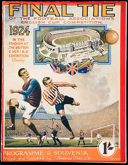 F.A. Cup Final programme Aston Villa v Newcastle United 26th April 192