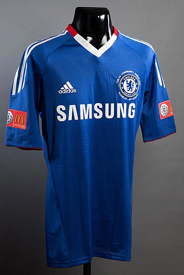 Nemanja Matic blue Chelsea No.24 2010 F.A. Community Shield jersey,  s