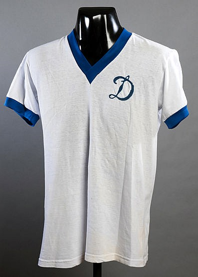 Moscow Dynamo No.3 jersey from the match v New York Cosmos at the Hofs