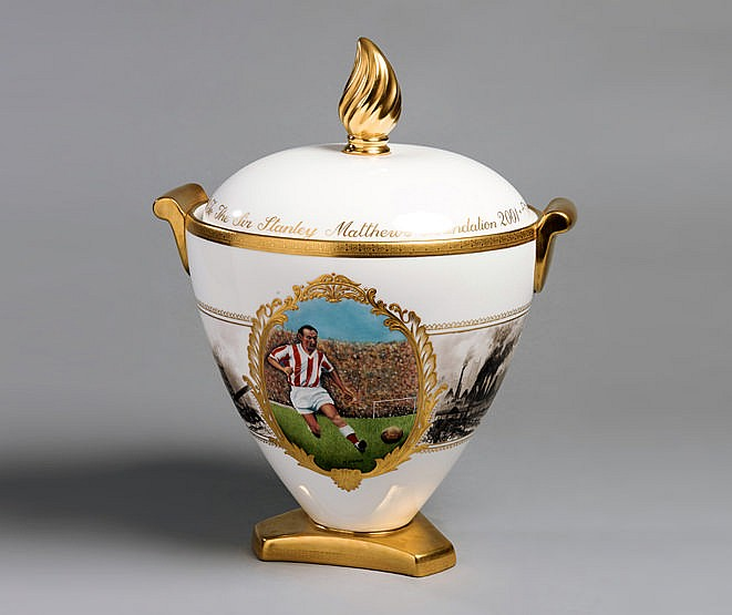 A unique Wedgwood Millennium vase & cover specially manufactured for t