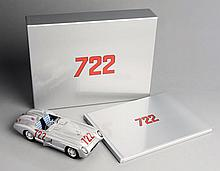 Sir Stirling Moss signed 1/18th scale model of his Mercedes Benz 300 S