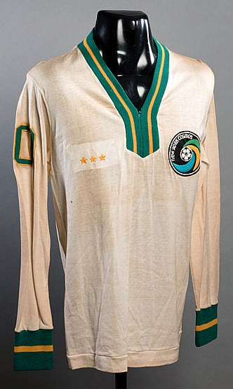 Commemorative jersey for the Pele post-retirement stadium appearance a