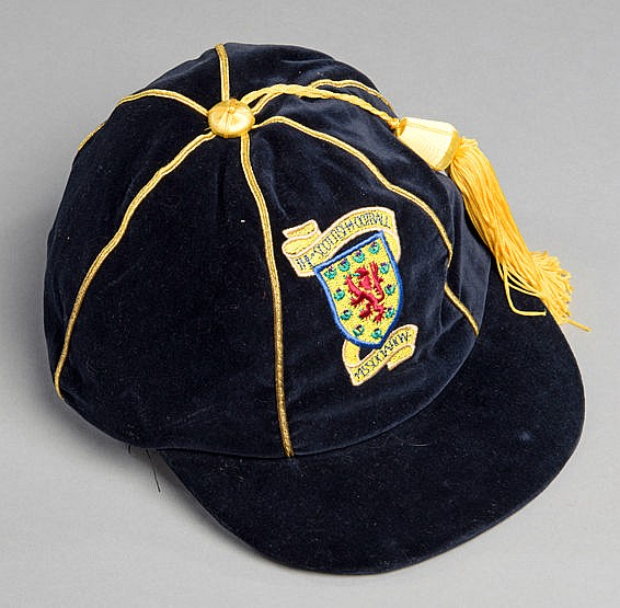 Scotland international football cap,  undated, modern era, original re