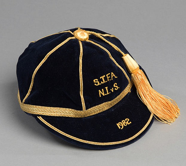 Scottish Junior Football Association international football caps 1982,