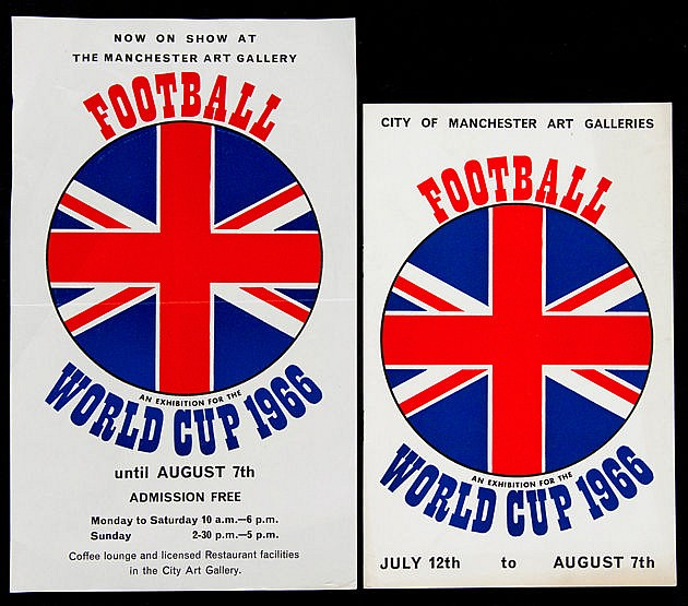 A rare official invitation card for the Draw for the 1966 World Cup,