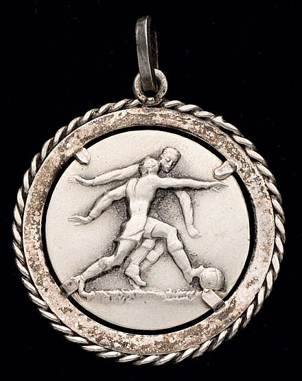 Continental silver medal for the 1961 Umberto Caligaris Under-21 inter