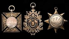 A trio of Portsmouth Football Association medals,  all in silver and d