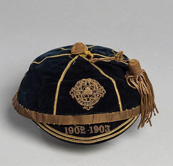 Jack Kirwan Northern Ireland international football cap 1902-03, cres