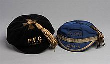 Glasgow Junior Football Association representative cap 1904-05,  the b
