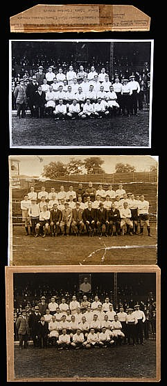 Two Fulham Football Club team-group photographs, the first circa 1924