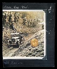 Silver-gilt 1922 Reliability Trial medal,  inscribed THE MIDLAND CAR C