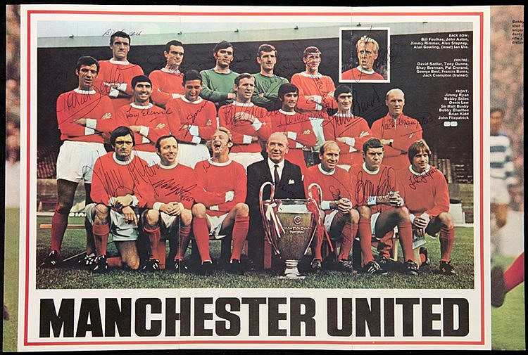 Purnell Star Team Series No.1 Manchester United Magazine Special, wit