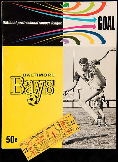 Programme and ticket for the first match day in the National Professio