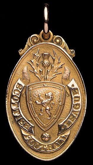 Billy Cook Celtic Scottish Football League runners-up medal 1930-31,