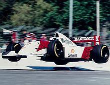 Mika Hakkinen signed photograph of the