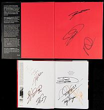 Two signed McLaren books,  i) McLaren The Grand Prix, Can-Am and Indy
