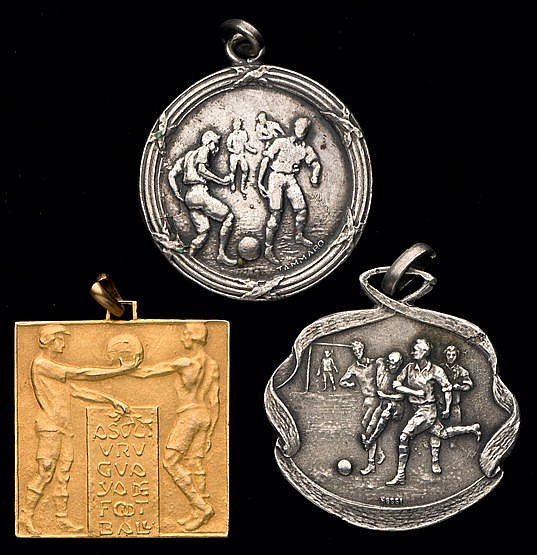 A trio of medals awarded to Juan Peregrino Anselmo, i) gilt-metal med