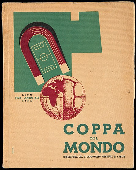 Official Report for the 1934 World Cup,  Coppa del Mondo, Cronistoria