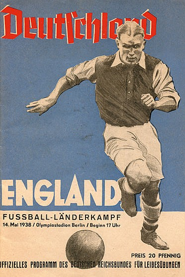 Germany v England international programme played in Berlin 14th May 19