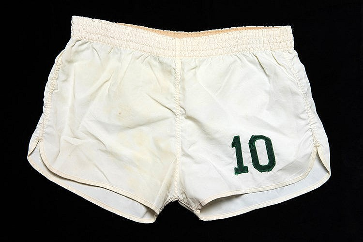 Pele Championship Season match-worn shorts from his Cosmos hat-trick g