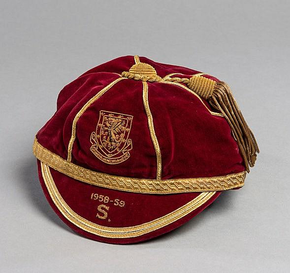 Roy Vernon Wales v Scotland international cap season 1958-59,  the red