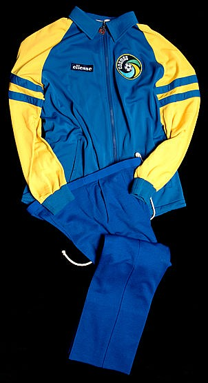 Franz Beckenbauer's New York Cosmos warm-up training suit from the